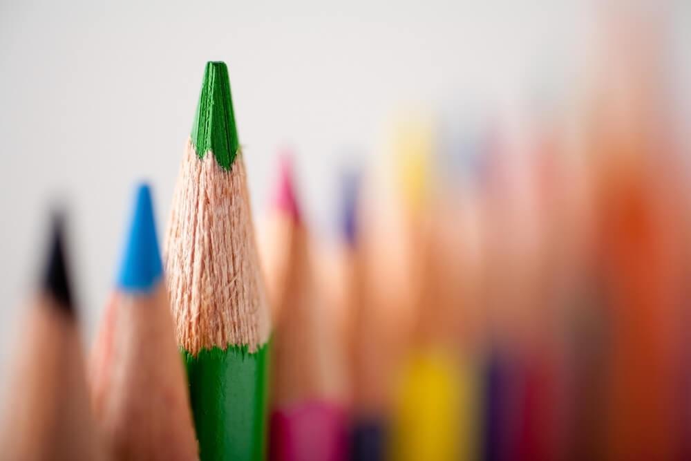 lápis de cor aquarelável