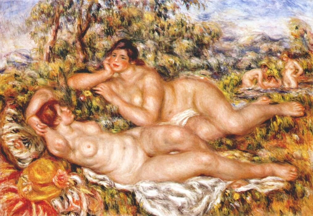Les baigneuses (1918-1919)