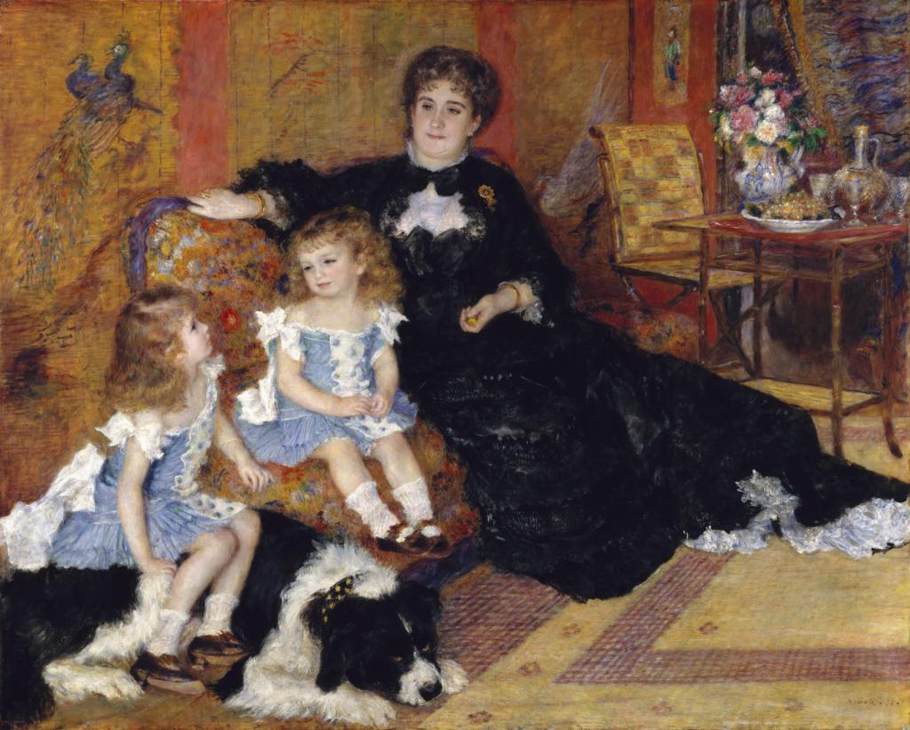 Madame Charpentier e suas crianças (1878)