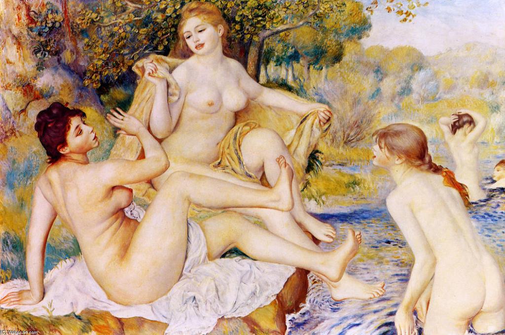 As grandes banhistas (1887)