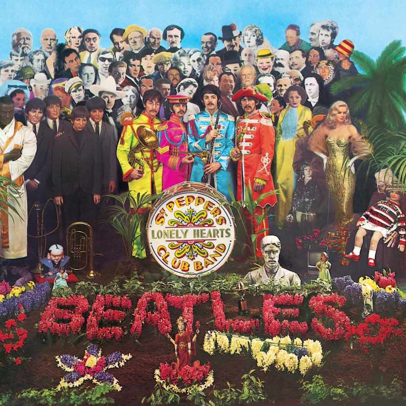 Capa disco Sgt Pepper