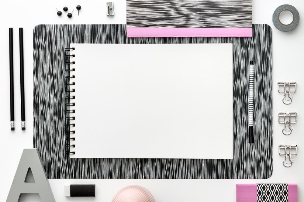 sketchbook ou scrapbook